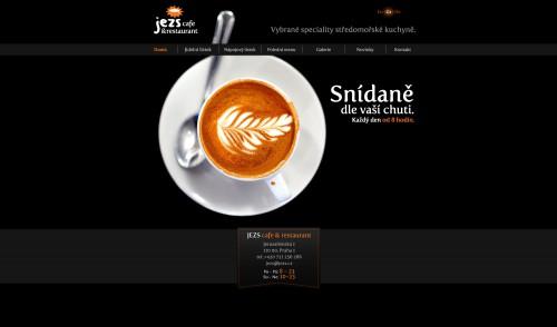 Stránky restaurace Jezs homepage